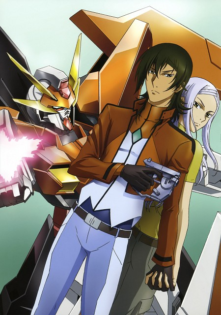 Sunrise (Studio), Mobile Suit Gundam 00, Mobile Suit Gundam 00 Illustrations Innovation, Allelujah Haptism, Soma Peries