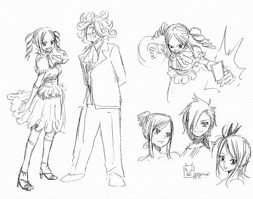 Hiro Mashima, Fairy Tail, Lucy Heartfilia, Character Sheet