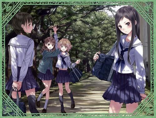 Mel Kishida, P.A. Works, Hanasaku Iroha, Ohana Matsumae, Minko Tsurugi