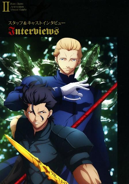 Ufotable, TYPE-MOON, Fate/Zero, Fate/Zero Animation Visual Guide II, Lancer (Fate/Zero)
