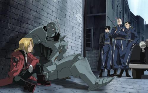 Hiromu Arakawa, BONES, Fullmetal Alchemist, Edward Elric, Maes Hughes
