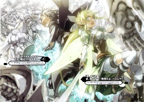 Sword Art Online, Leafa, Kazuto Kirigaya