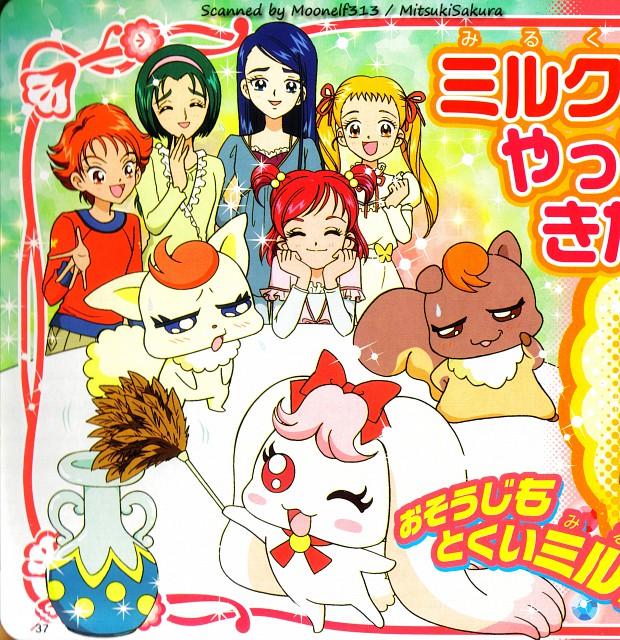 Toei Animation, Yes! Precure 5, Karen Minazuki, Nozomi Yumehara, Natts