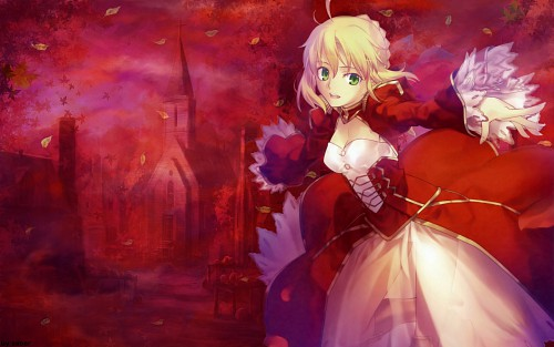 TYPE-MOON, Fate/EXTRA, Nero Claudius Caesar Augustus Germanicus Wallpaper
