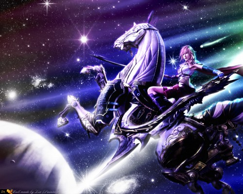Final fantasy xiii wallpaper colourful space minitokyo - Final space wallpaper ...