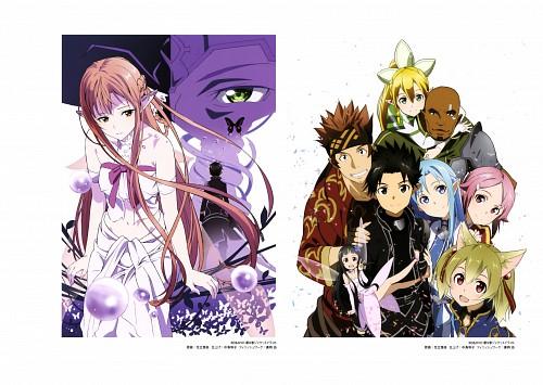 Shingo Adachi, A-1 Pictures, Sword Art Online, Suguha Kirigaya, Asuna Yuuki