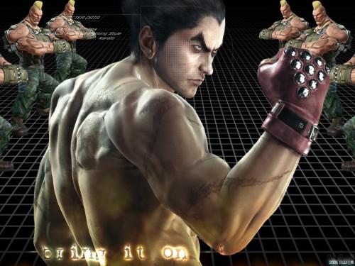 Namco, Tekken, Kazuya Mishima Wallpaper
