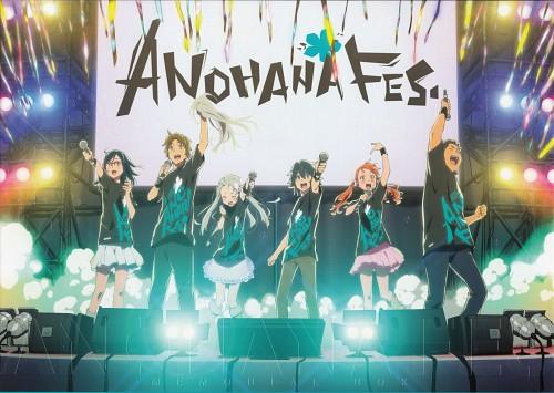 A-1 Pictures, AnoHana, Tetsudou Hisakawa, Atsumu Matsuyuki, Naruko Anjou