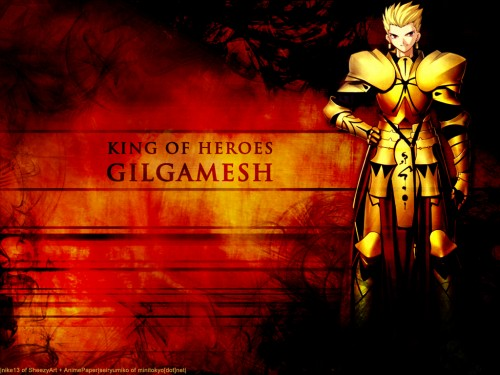 Fate/stay night, Gilgamesh (Fate/stay night) Wallpaper