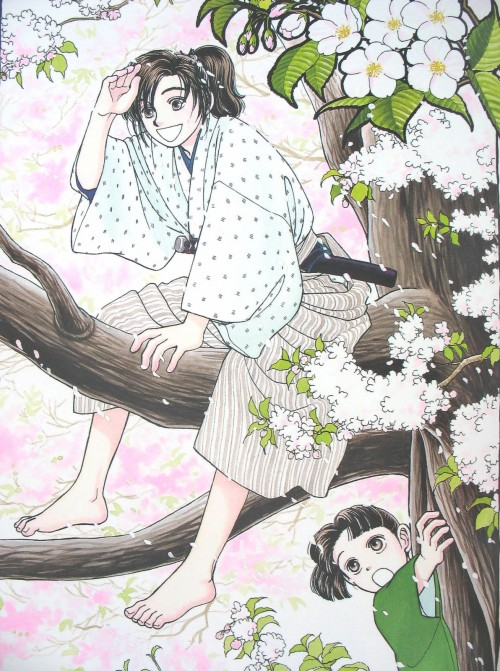 Taeko Watanabe, Kaze Hikaru, Sei Tominaga, Souji Okita (Kaze Hikaru)