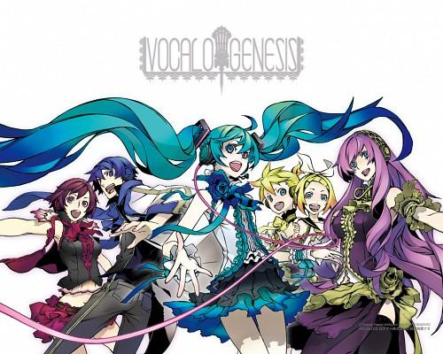 Miwa Shirow, Vocaloid, Kaito, Len Kagamine, Rin Kagamine