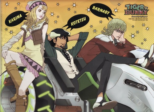 Sunrise (Studio), Tiger and Bunny, Karina Lyle, Barnaby Brooks Jr., Kotetsu T. Kaburagi