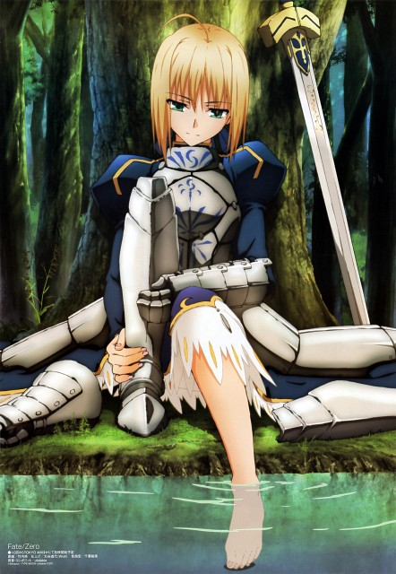 Masashi Takeuchi, TYPE-MOON, Ufotable, Fate/Zero, Saber