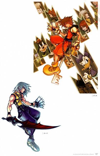 Square Enix, Kingdom Hearts Series Memorial Ultimania, Kingdom Hearts, Riku, Kairi