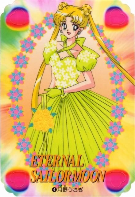 Toei Animation, Bishoujo Senshi Sailor Moon, Usagi Tsukino, Trading Cards