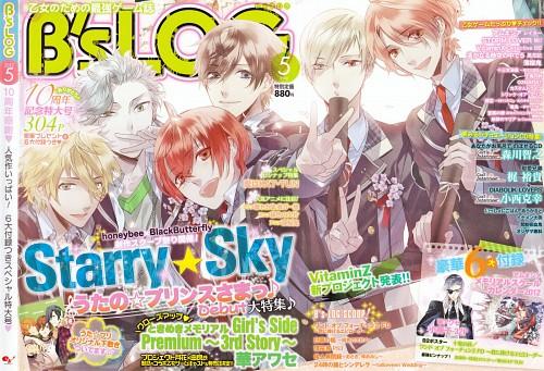 Kazuaki, Starry Sky, Hayato Aozora, Yoh Tomoe, Suzuya Tohzuki