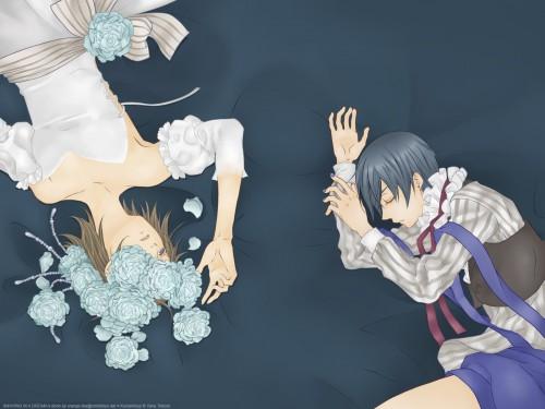 Yana Toboso, A-1 Pictures, Kuroshitsuji, Ciel Phantomhive, Doll (Kuroshitsuji) Wallpaper