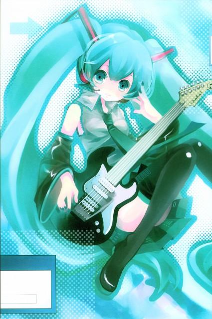 Shimeko, Landmark (Artbook), Vocaloid, Miku Hatsune