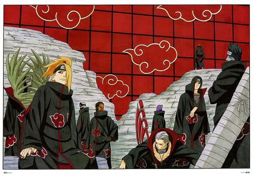 Masashi Kishimoto, Naruto, NARUTO Illustrations, Hidan, Yahiko