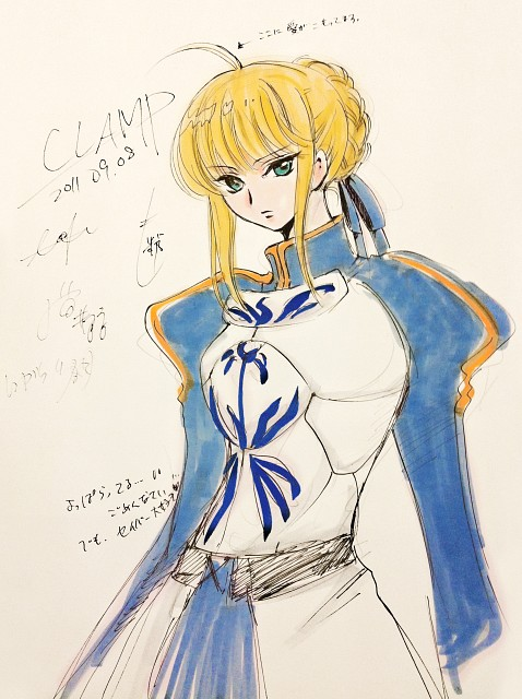 CLAMP, Fate/stay night, Saber