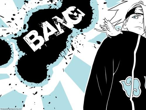 Masashi Kishimoto, Studio Pierrot, Naruto, Deidara, Vector Art Wallpaper