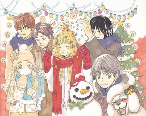 Chika Umino, Honey and Clover, Yuuta Takemoto, Ayumi Yamada, Hagumi Hanamoto