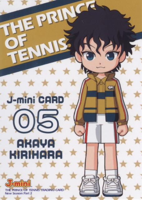 Takeshi Konomi, J.C. Staff, Prince of Tennis, Akaya Kirihara, Trading Cards