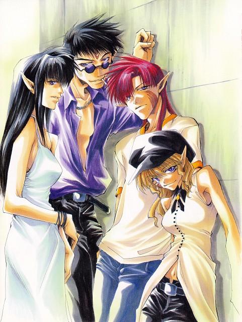 Kazuya Minekura, Studio Pierrot, Saiyuki, Lirin, Dokugakuji