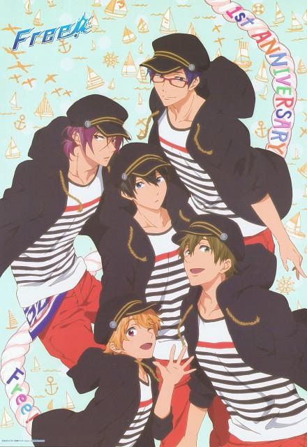 Kyoto Animation, Free!, Haruka Nanase (Free!), Rei Ryuugazaki, Nagisa Hazuki