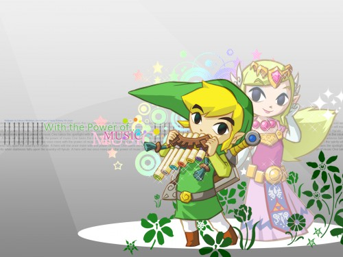 Nintendo, The Legend of Zelda, Toon Zelda, Toon Link Wallpaper