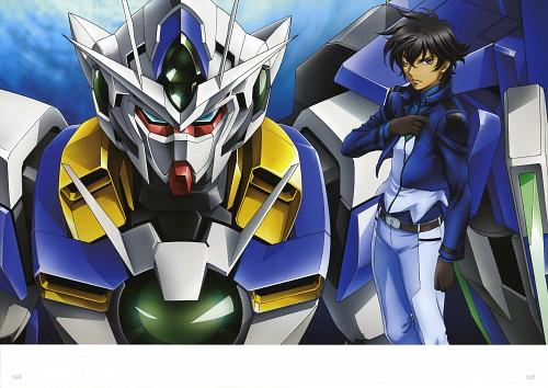 Sunrise (Studio), Mobile Suit Gundam 00, Mobile Suit Gundam 00 Illustrations Innovation, Setsuna F. Seiei