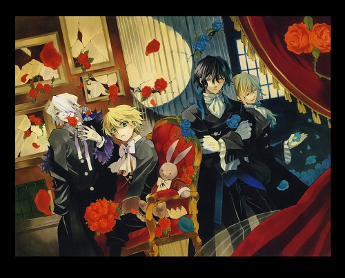 Pandora Hearts, Pandora Hearts ~odds and ends~, Emily (Pandora Hearts), Oz Vessalius, Gilbert Nightray