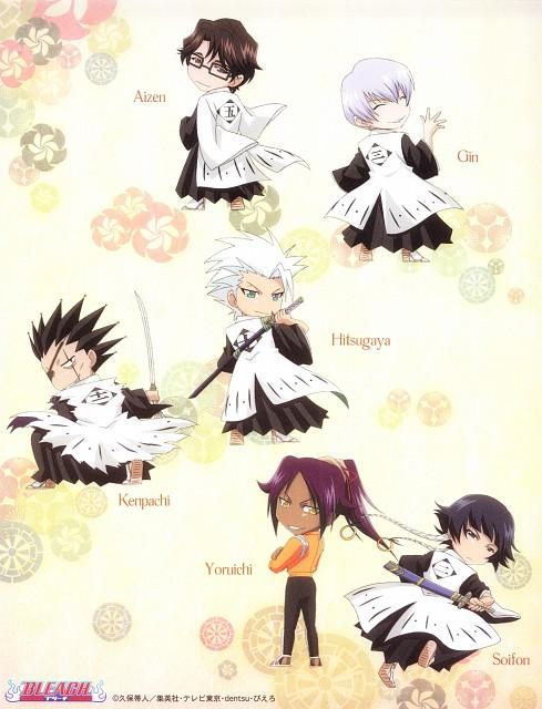 Studio Pierrot, Bleach, Kenpachi Zaraki, Sousuke Aizen, Soi Fong