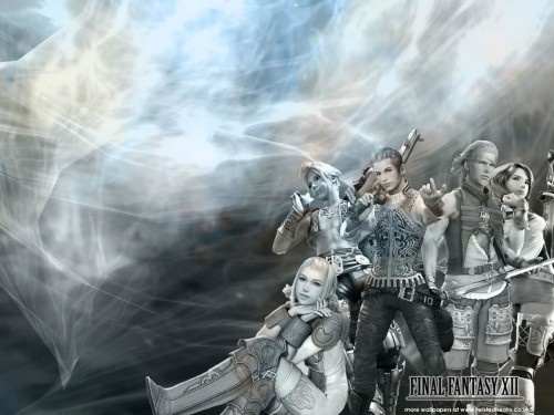 Square Enix, Final Fantasy XII, Penelo, Ashe, Basch Wallpaper