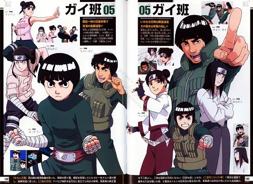 Studio Pierrot, Naruto, Naruto Juunen Hyakunin, Gai , Neji Hyuuga