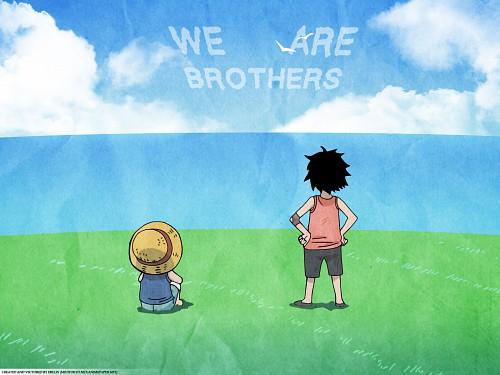 Eiichiro Oda, Toei Animation, One Piece, Ace, Monkey D. Luffy Wallpaper
