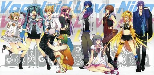 Domco, Vocaloid, Luka Megurine, Gumi, Meiko