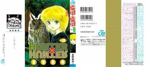 Yoshihiro Togashi, Hunter x Hunter, Kurapika , Manga Cover