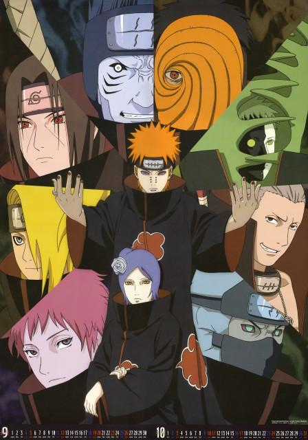 Studio Pierrot, Naruto, Kakuzu , Kisame Hoshigaki, Nagato