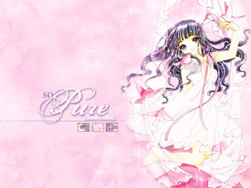 CLAMP, Madhouse, Cardcaptor Sakura, Tomoyo Daidouji Wallpaper