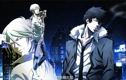 Production I.G, PSYCHO-PASS, Shougo Makishima, Shinya Kougami