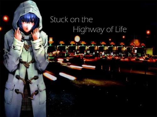 Yoshiyuki Sadamoto, Neon Genesis Evangelion, Rei Ayanami Wallpaper