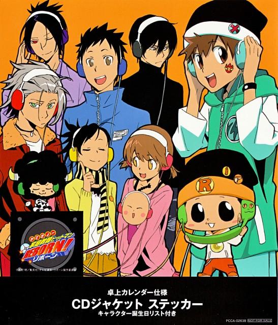 Akira Amano, Katekyo Hitman Reborn!, Lambo, Leon (Katekyo Hitman Reborn!), Hayato Gokudera