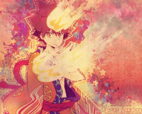Katekyo Hitman Reborn!, Tsunayoshi Sawada Wallpaper