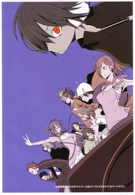 Suzuhito Yasuda, Atlus, Shin Megami Tensei: Devil Survivor, Midori Komaki, Amane Kuzuryu