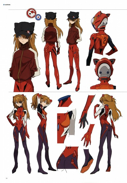 Gainax, Khara, Neon Genesis Evangelion, Evangelion 3.0 Theatrical Booklet, Asuka Langley Soryu