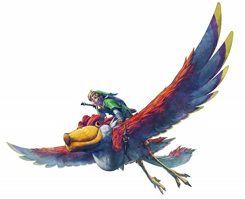 The Legend of Zelda: Skyward Sword, Zelda, Link