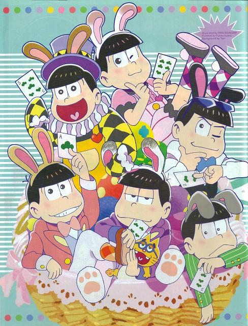Fujio Akatsuka, Osomatsu-kun, Karamatsu Matsuno, Todomatsu Matsuno, Osomatsu Matsuno
