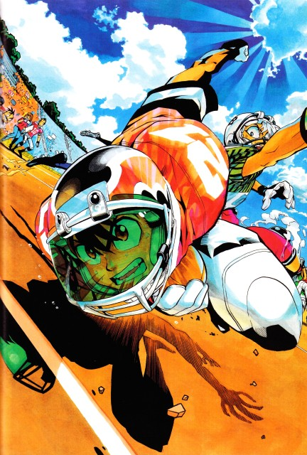 Yuusuke Murata, Studio Gallop, Eyeshield 21, Field of Colors, Riku Kaitani