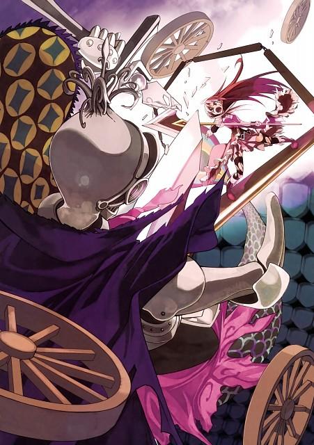 Puella Magi Madoka Magica, Puella Magi Madoka Magica The Illustrated Book, Kyoko Sakura, Oktavia Von Seckendorff